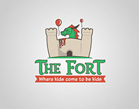 Logo proposal for a kid area playground