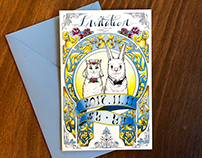 Self wedding invitation