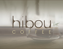 Hibou Coffee Logo and Package Design