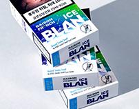 KT&G ICE BLAN Cigarette Branding & Packaging