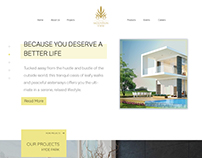 Mountain View website | home page concept | Real Estate