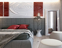 """Modern interior of an apartment in """"Obolon Residence"""""""