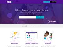 Curious World Website