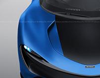 McLaren Speedtail Deep Sea