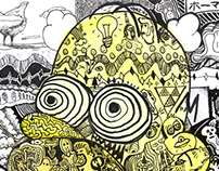 My Mind and The Simpsons Illustrated