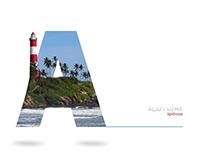 Kerala, A typography tour