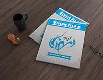 Vision Islam (Magazine cover Design)