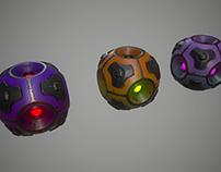 Sci-fi energy sphere