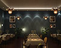 3D Rendering of Restaurant