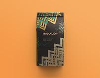 Free Coffee Bag PSD Mockup