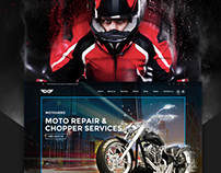 MOTO HERO - Motorcycle Repair & Service WordPress Theme