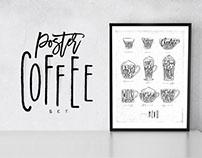Poster Coffee Set