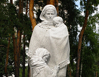 Monument to the Mother–widow of the soldiers in the SWW