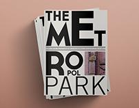 Metropol Park.  Print Design