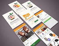Orenjimart, Ecommerce mobile App
