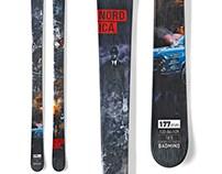Nordica Ski Graphics