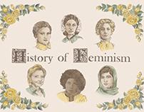 Herstory of Feminism poster