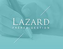Lazard Frères Gestion // UI - UX Design