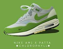 Nike AM1 X Patta - Chlorophyll