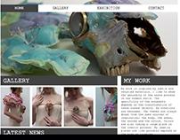 Website of Belgian Jewelry artist