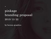 pinkage - branding proposal