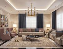 Majles nsaa ( living room ) neo classical design