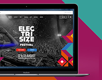 Electrisize Website Design #2016