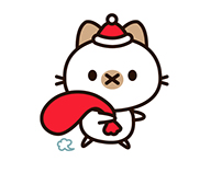 Sundae Cat - Character Design and LINE stickers