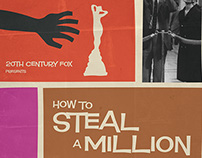 Alternative Film Poster: How to Steal a Million