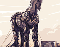 Troy - The Horse