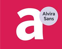 Alvira Sans Typeface