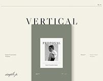 Proposal Vertical Template