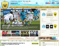 Development Website Anji Football Club