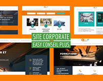 Site corporate : Easyconseilplus