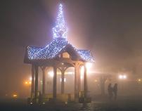 Mgła w Rzeszowie - Fog in Rzeszów