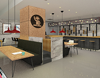 Canteen Design For Ogilvy İstanbul Office