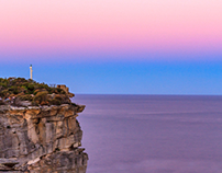 Manly North Head Sunset