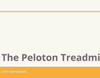 John Karwowski | The Peloton Treadmill