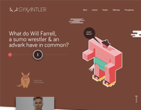 GYK Antler Site Redesign & Concepts