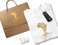 Roots logo branding Identity