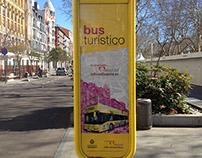 Señales para el Bus Turístico