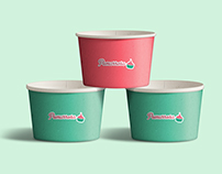 Pomarrosa frozen yogurt