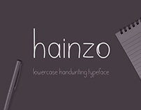 Hainzo Free Font