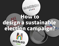 How to design a sustainable election campaign ?