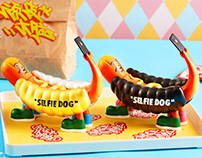 Art Toy-Selfie Dog (自拍狗)