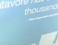Datavore 2016
