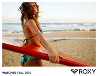 Roxy Watch Catalog Fall 2015