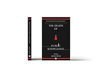 Death of Public Knowledge (Book Cover Design)