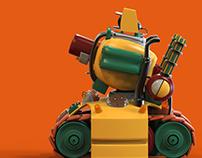 Metal Slug Tank - Plastic Toy