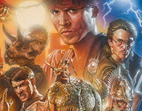 Kung Fury Official Movie Poster